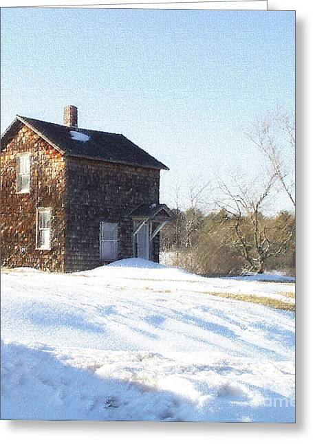 Dantzler Greeting Cards - Toll House Greeting Card by Andrew Govan Dantzler