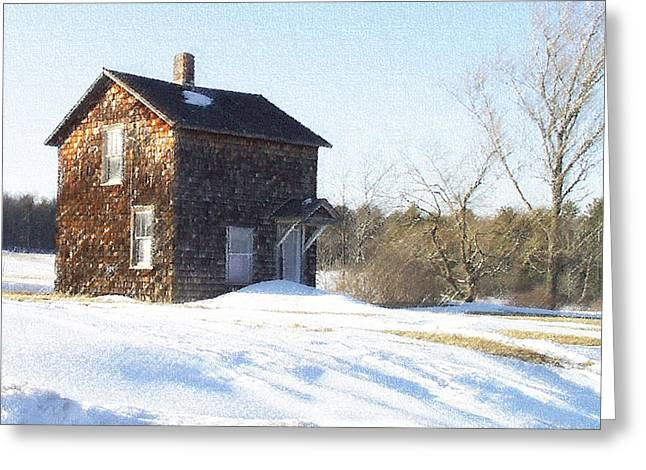 Toll House Greeting Card by Andrew Govan Dantzler