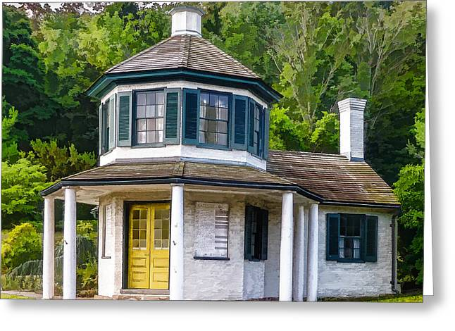 Toll House Greeting Cards - Tollhouse Greeting Card by Will Draper