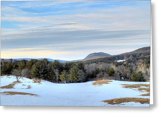 Emergence Greeting Cards - Tom Ball Mountain - the Berkshires Greeting Card by Geoffrey Coelho