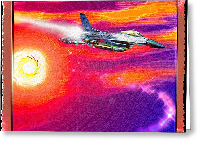 Jet Star Greeting Cards - Tom Clancys H.A.W.X Greeting Card by Daniel Janda