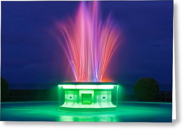Art Of Building Greeting Cards - Tom Parker Fountain Greeting Card by Henk Meijer Photography