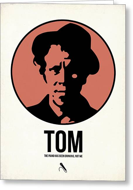 Classic Mixed Media Greeting Cards - Tom Poster 1 Greeting Card by Naxart Studio