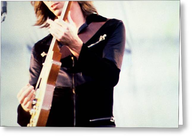 Tom Scholz of Boston-Day on the Green 1 in Oakland Ca 5-6-79 1st Release Greeting Card by Daniel Larsen