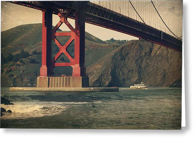 Famous Bridge Greeting Cards - Tomorrow Will Still Be the Same Greeting Card by Laurie Search