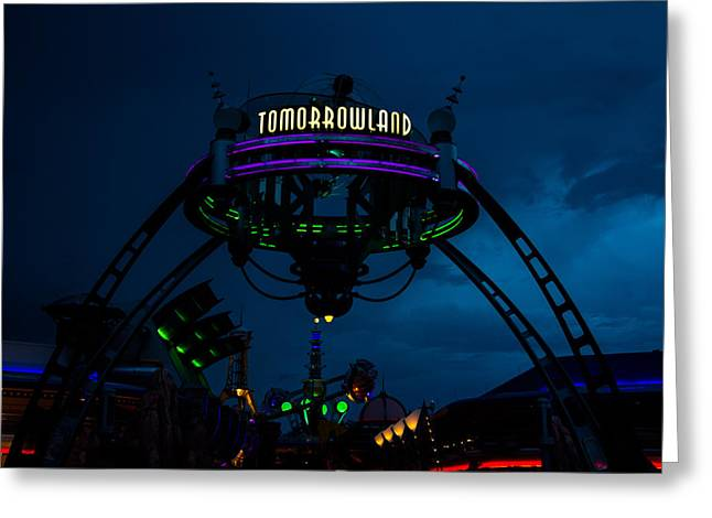 Espn Greeting Cards - Tomorrowland Greeting Card by Andrew Delos Santos