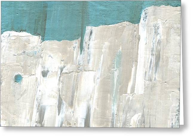 Pallet Knife Greeting Cards - Tones of Home Greeting Card by Logan Hoyt Davis