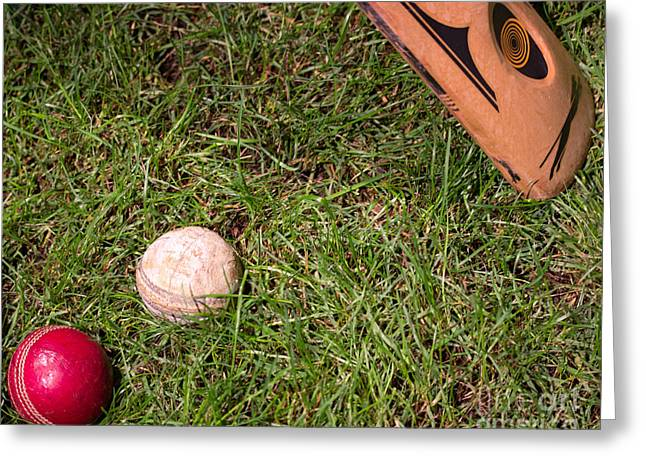 Spheroid Greeting Cards - Tools of the Game  Greeting Card by Tom Gari Gallery-Three-Photography