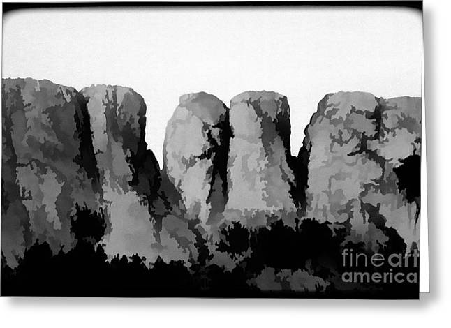 Tooth of the Horse Greeting Card by Jon Burch Photography