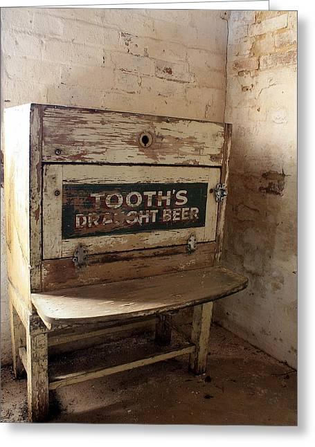 Nice Teeth Greeting Cards - Tooths Draught Beer Greeting Card by Ian  Ramsay