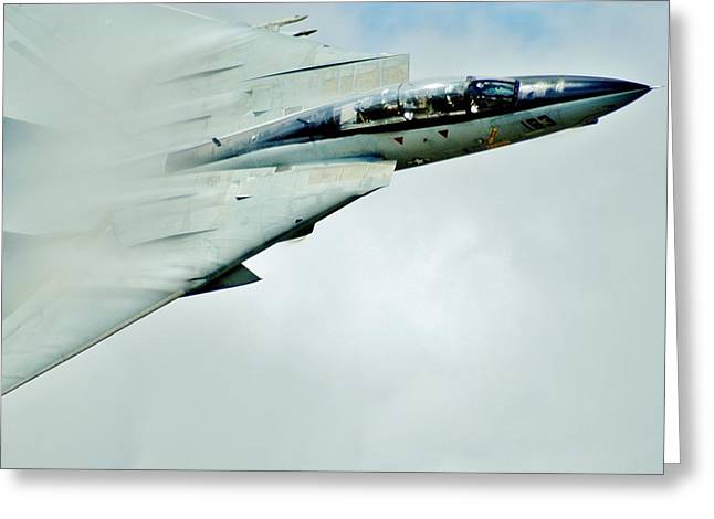 F-101 Greeting Cards - Top Gun Greeting Card by Benjamin Yeager