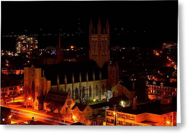 Kingston Greeting Cards - Top of Kingston series 001 Greeting Card by Paul Wash