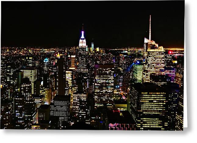 Top Of The Rock Greeting Cards - Top Of The Rock Greeting Card by Dan Sproul