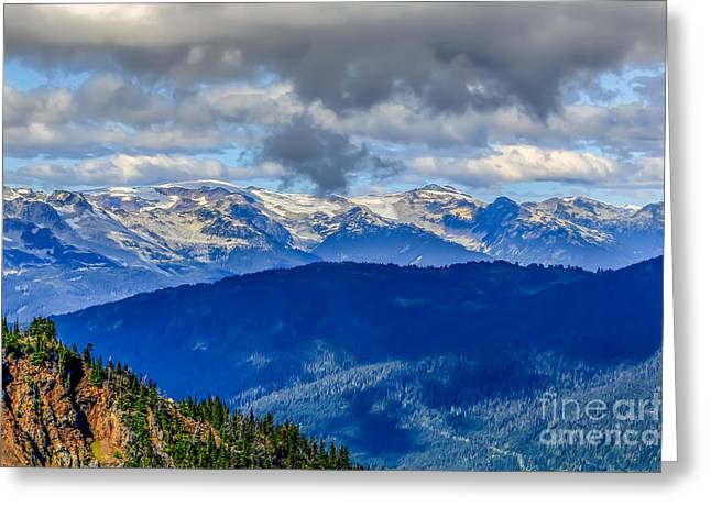 Freestyle Skiing Greeting Cards - Top of the World Greeting Card by Jon Burch Photography