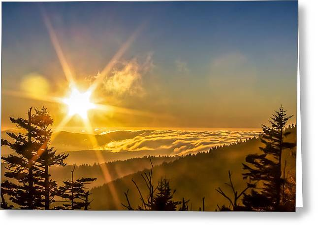 Gatlinburg Tennessee Greeting Cards - Top Of The World Greeting Card by Rob Sellers