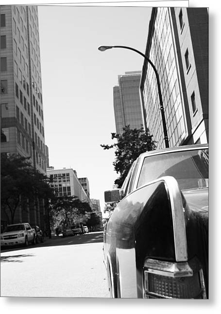 Edmonton Photographer Greeting Cards - Topless Bars Greeting Card by Jerry Cordeiro