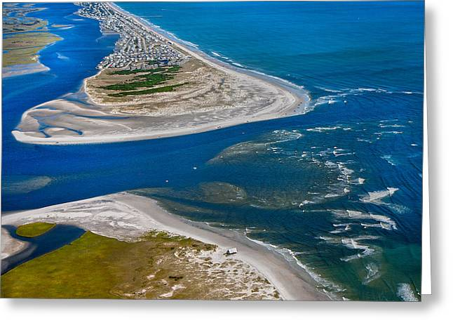 Topsail Island Greeting Cards - Topsail Glorious View Greeting Card by Betsy C  Knapp