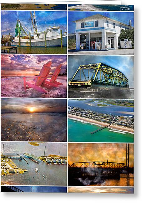 Control Tower Greeting Cards - Topsail Glory Greeting Card by Betsy C  Knapp