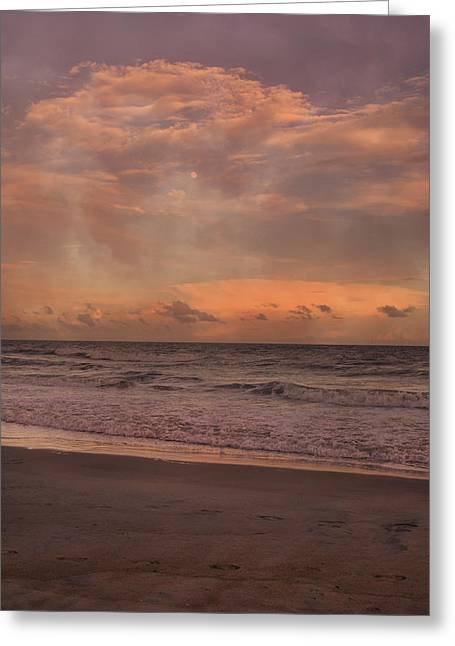 Topsail Island Perfect Evening Greeting Card by Betsy Knapp