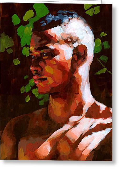 Male Greeting Cards - Torano in the Afternoon Greeting Card by Douglas Simonson