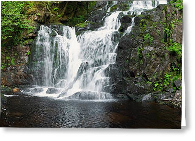Beautiful Creek Greeting Cards - Torc waterfall Greeting Card by Luis Alvarenga