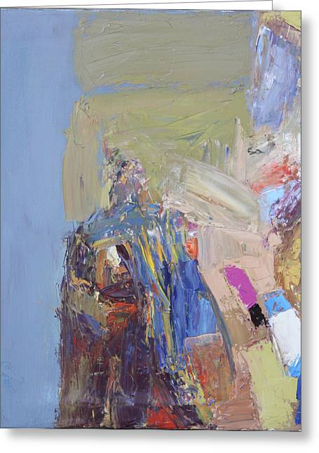 Toreador Paintings Greeting Cards - Toreador IV Greeting Card by Susanne Forestieri