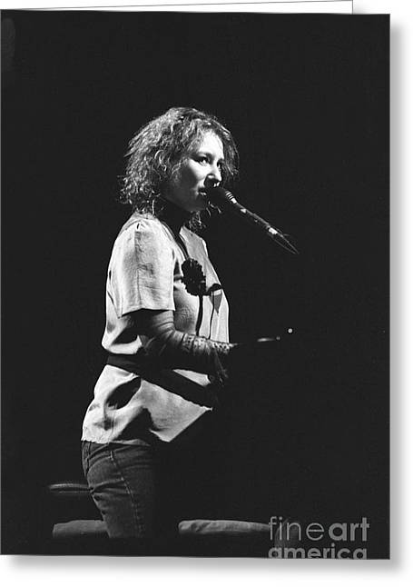 Tori Amos Greeting Cards - Tori Amos Greeting Card by Front Row  Photographs