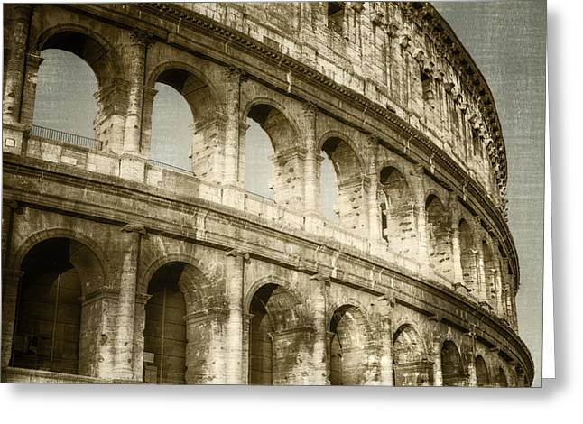 Europe Greeting Cards - Torn from the Pages Greeting Card by Joan Carroll
