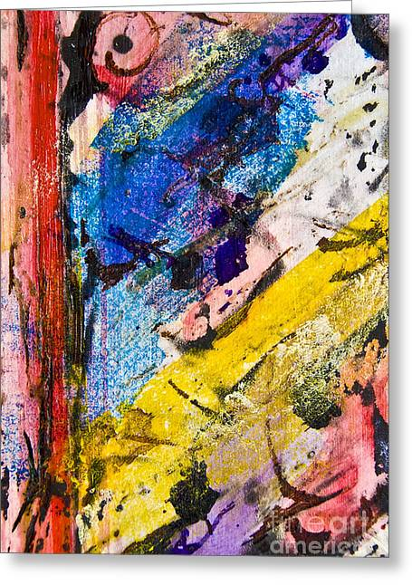 Tornero Greeting Card by Alexandra Jordankova
