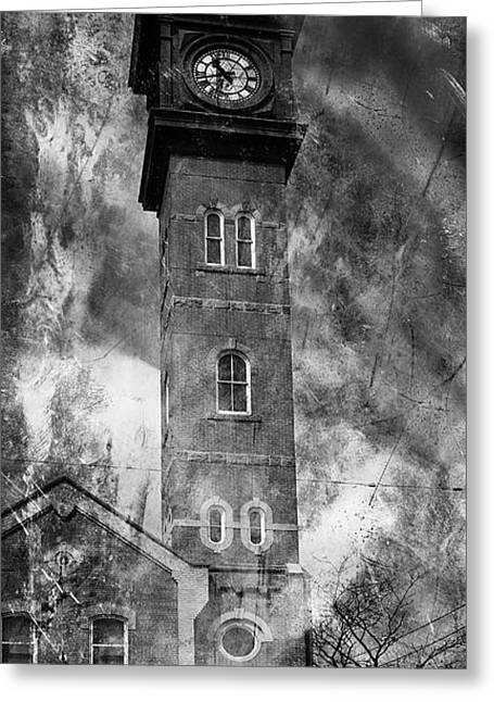 College Street Greeting Cards - Toronto Firehall 1b Greeting Card by Andrew Fare