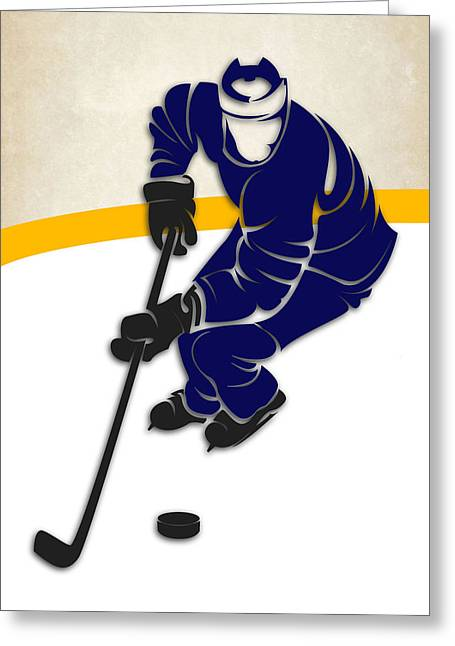 Maple Leafs Captain Greeting Cards - Toronto Maple Leafs Rink Greeting Card by Joe Hamilton