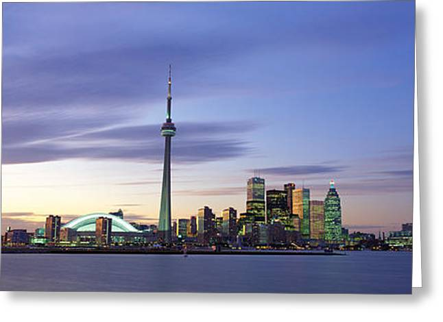 Colorful Photography Greeting Cards - Toronto, Ontario, Canada Greeting Card by Panoramic Images
