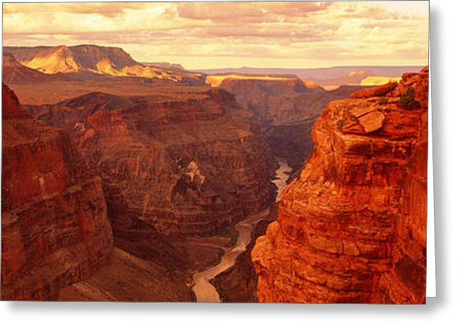 Geology Photographs Greeting Cards - Toroweap Point, Grand Canyon, Arizona Greeting Card by Panoramic Images