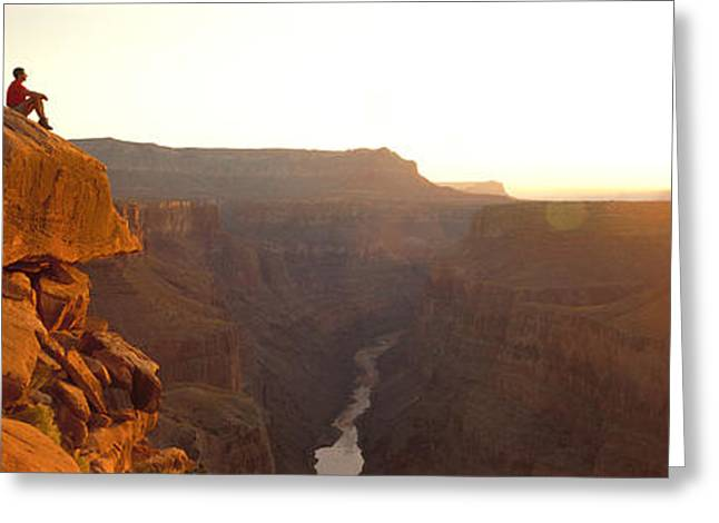 Meditate Greeting Cards - Toroweap Point Grand Canyon National Greeting Card by Panoramic Images