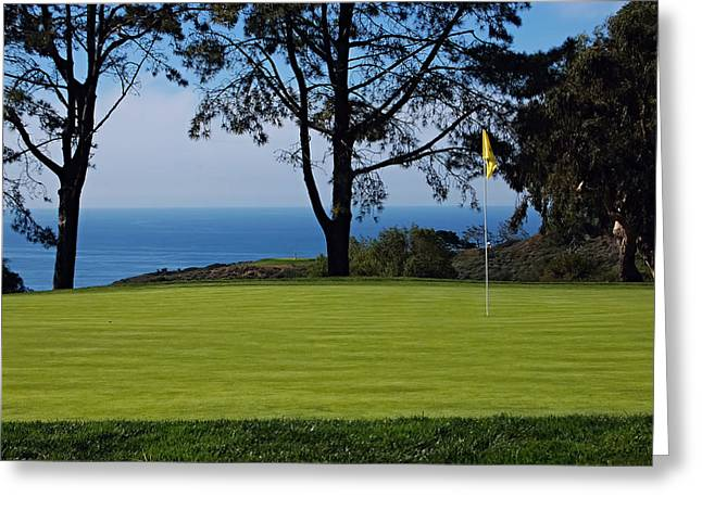 Us Open Photographs Greeting Cards - Torrey Pines Golf Course Greeting Card by See My  Photos