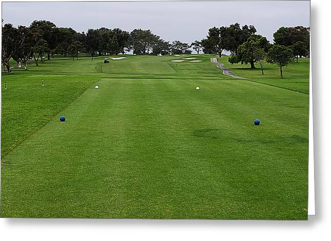Us Open Greeting Cards - Torrey Pines South No. 1 Greeting Card by See My  Photos