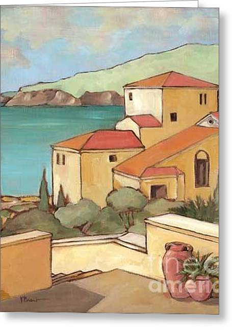 Mediterranean House Greeting Cards - Torrino I Greeting Card by Paul Brent