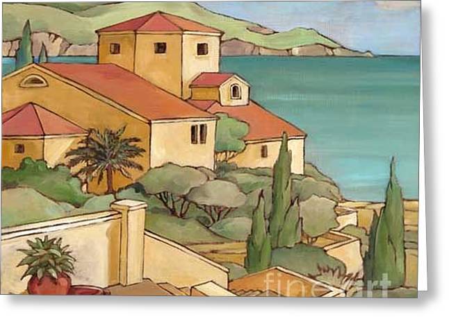 Mediterranean House Greeting Cards - Torrino II Greeting Card by Paul Brent