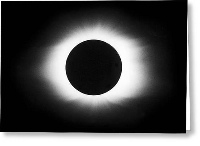 Solar Eclipse Greeting Cards - Total Solar Eclipse Sequence Greeting Card by John Chumack