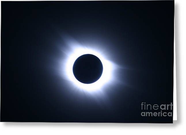 Solar Eclipse Greeting Cards - Total Solar Eclipse Greeting Card by Stephen & Donna O