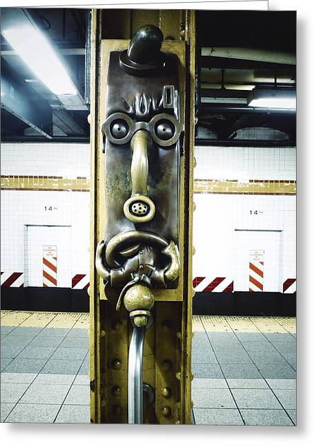 Union Square Greeting Cards - Totem Phone Greeting Card by Natasha Marco