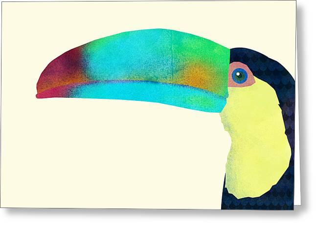 Toucan Greeting Card by Eric Fan