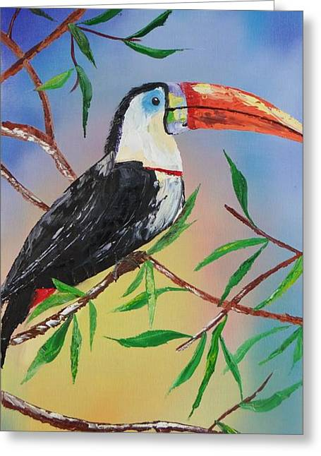 Toucan Print Greeting Cards - Toucan Greeting Card by Kevin  Brown