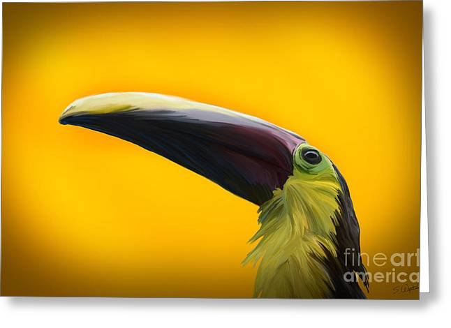 Toucan Print Greeting Cards - Toucan Greeting Card by Shawn  Wixted