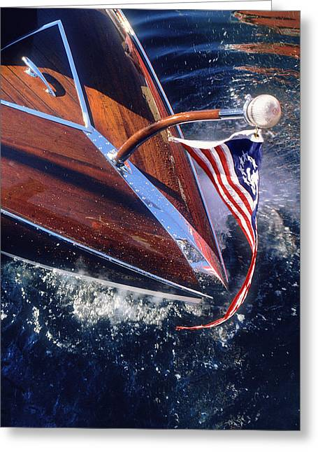 Wisconsin Greeting Cards - Touch of Class - Lake Geneva Wisconsin Greeting Card by Bruce Thompson