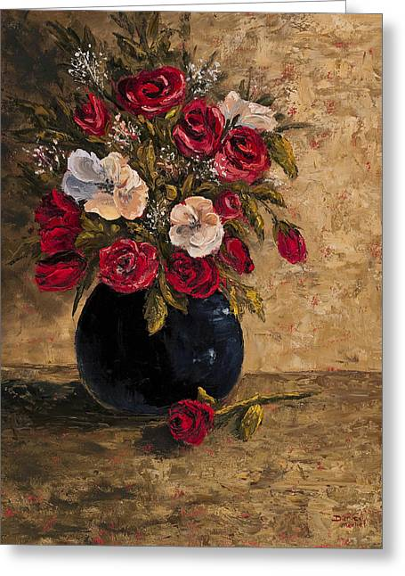 Old Masters Greeting Cards - Touch Of Elegance Greeting Card by Darice Machel McGuire