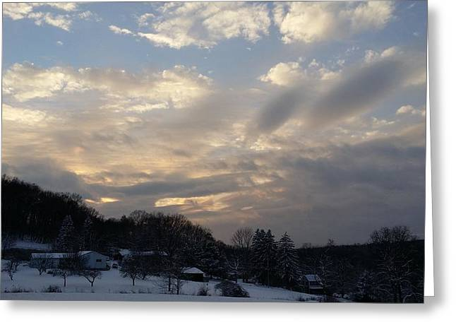 Senic View Greeting Cards - Touch Of Heaven Greeting Card by Bradford j Cole
