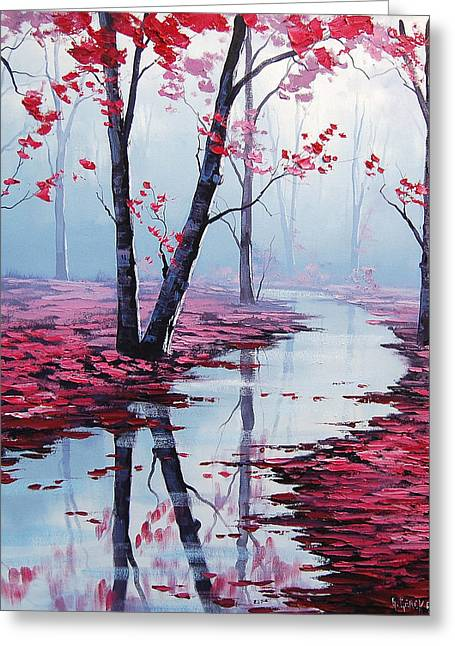 Pink Blossoms Greeting Cards - Touch of Heaven Greeting Card by Graham Gercken