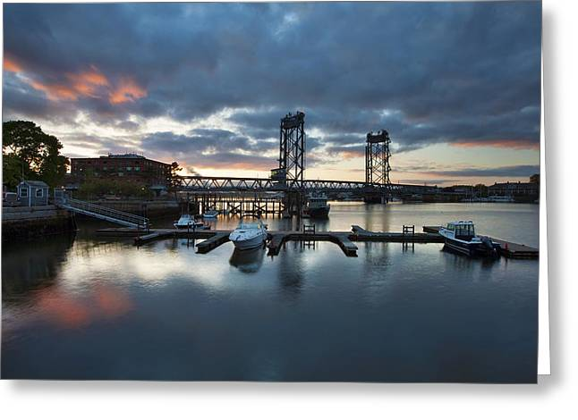 Maine Shore Greeting Cards - Touch of Red Greeting Card by Eric Gendron