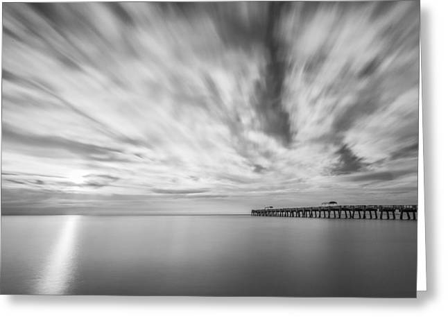 Sand Art Greeting Cards - Touch the Clouds Greeting Card by Jon Glaser